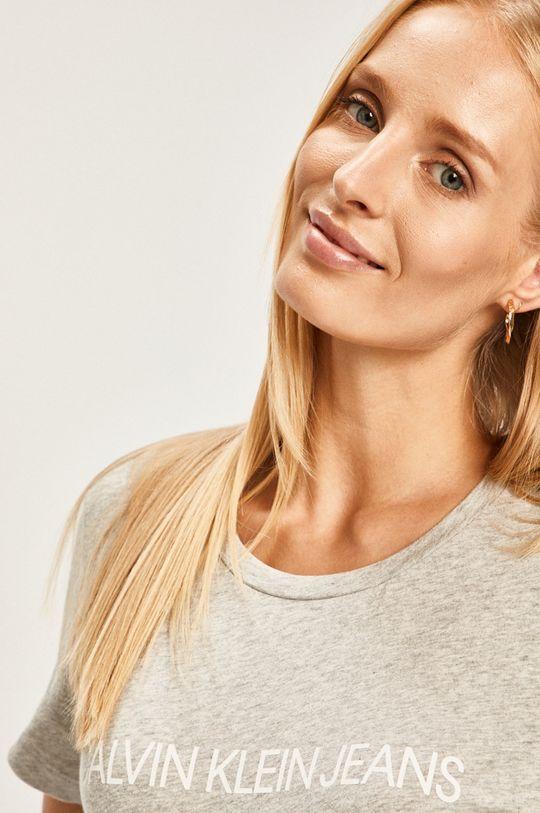 sivá Calvin Klein Jeans - Tričko