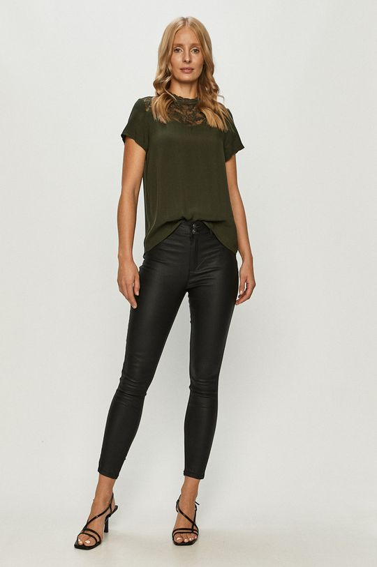 Only - Bluza verde
