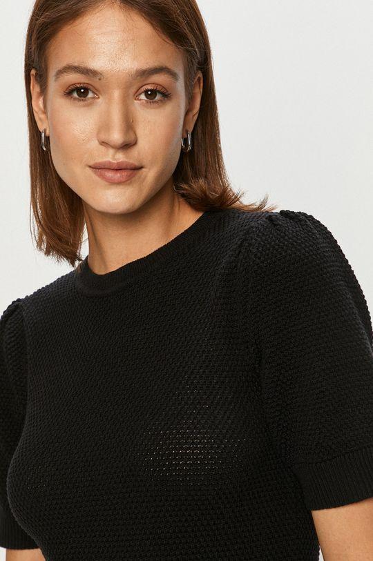 czarny Vila - Sweter