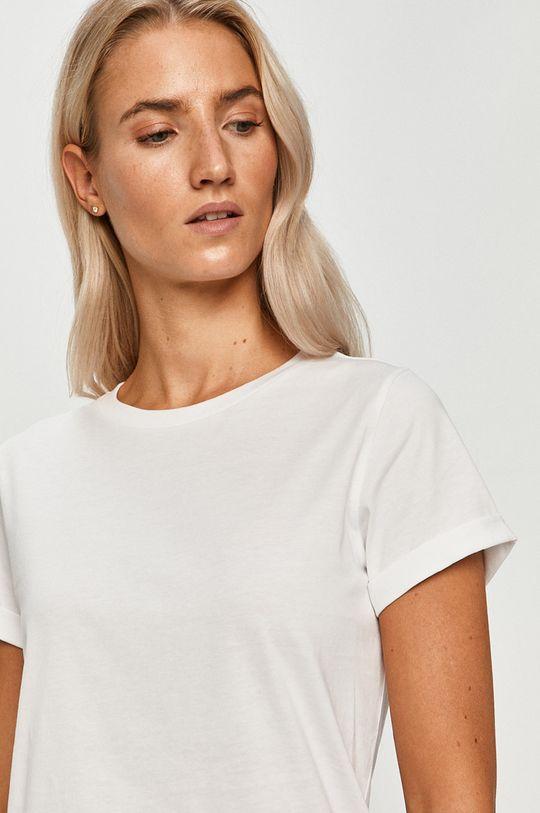 biały Hugo - T-shirt Damski