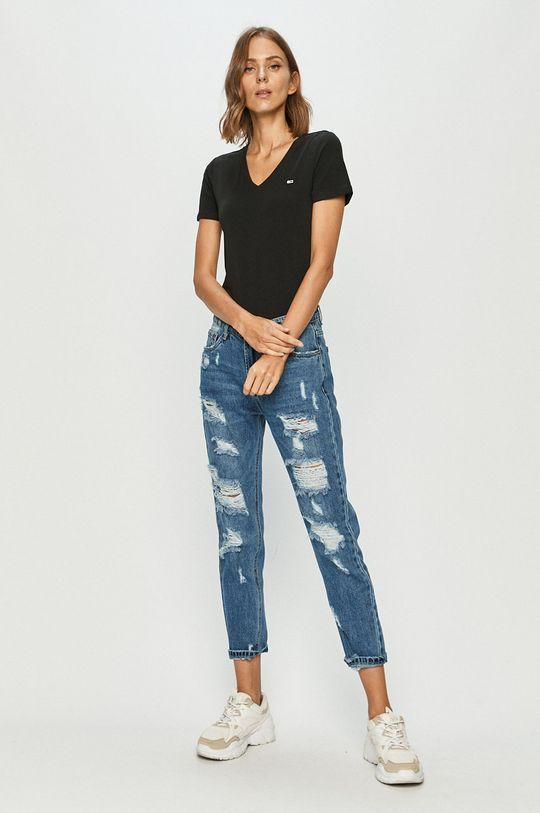 Tommy Jeans - Tričko černá
