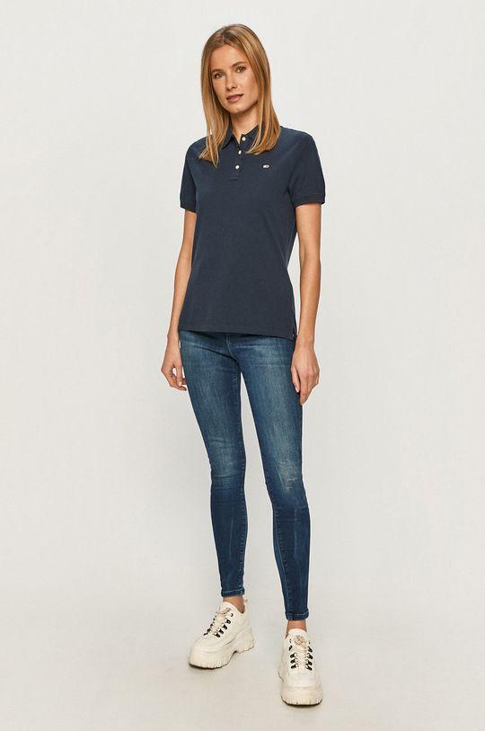 Tommy Jeans - Tričko námořnická modř