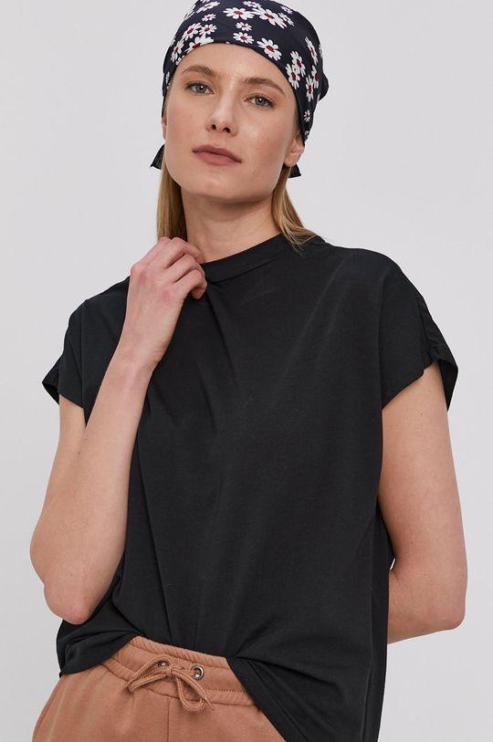 czarny Noisy May - T-shirt