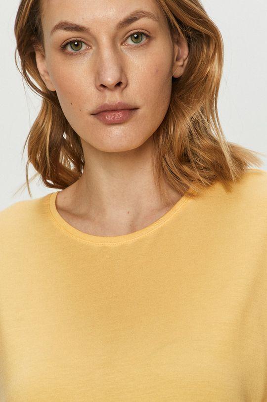 jasny żółty Vero Moda - T-shirt