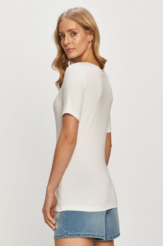 Vero Moda - T-shirt 48 % Bawełna organiczna, 4 % Elastan, 48 % Tencel