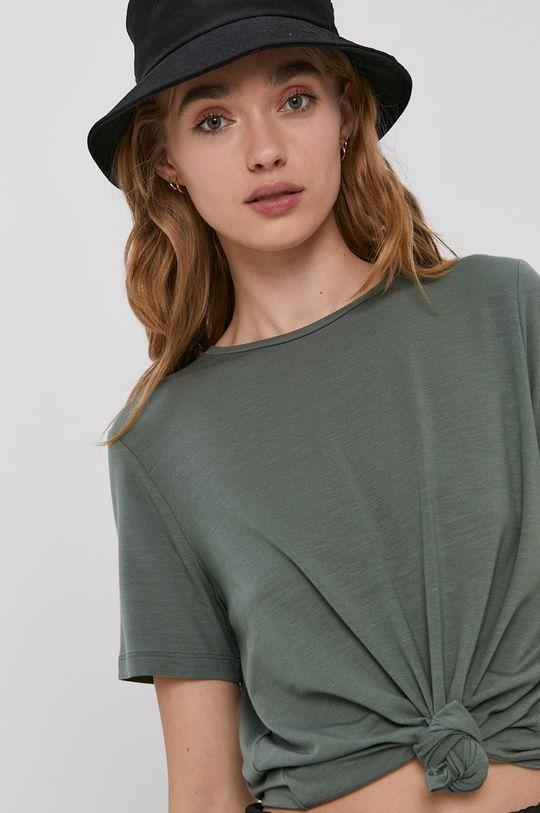 zelená Vero Moda - Tričko Dámsky
