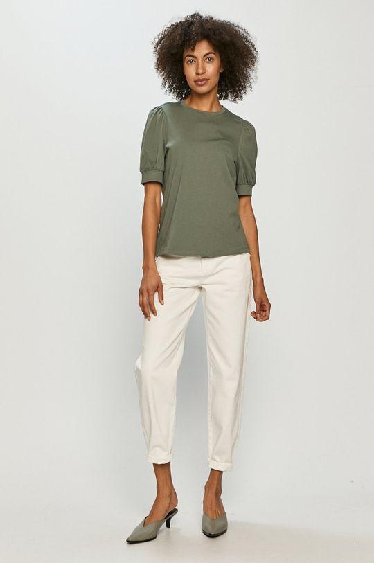 Vero Moda - Tričko sivá