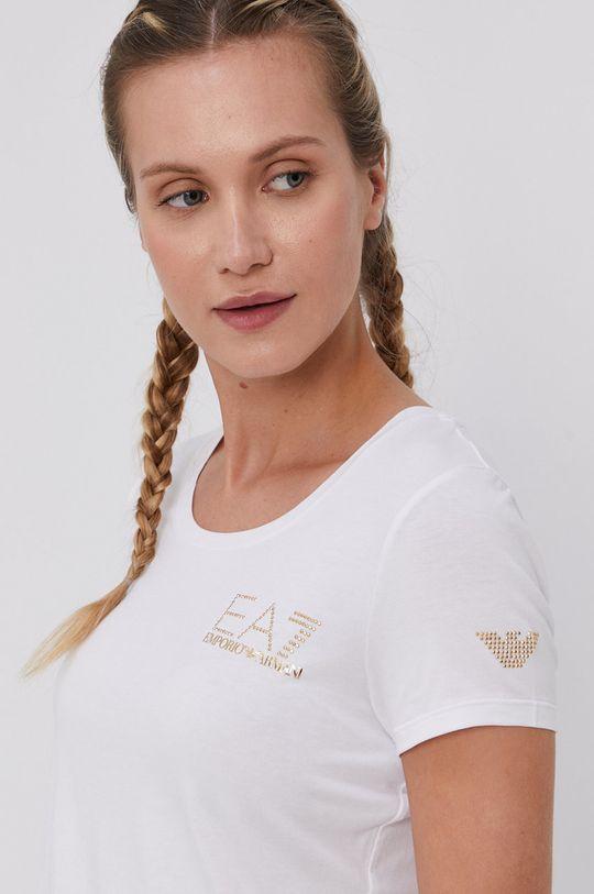 fehér EA7 Emporio Armani - T-shirt Női