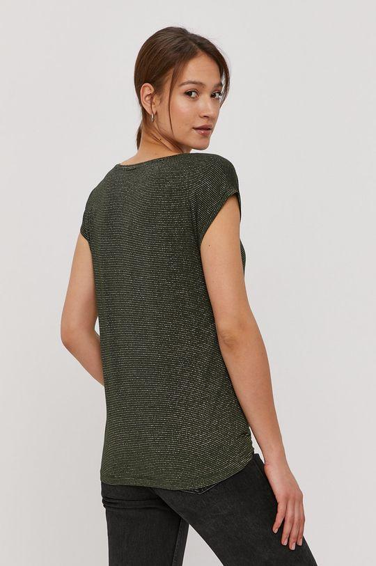 Pieces - T-shirt 5 % Elastan, 85 % Wiskoza, 10 % Włókno metaliczne
