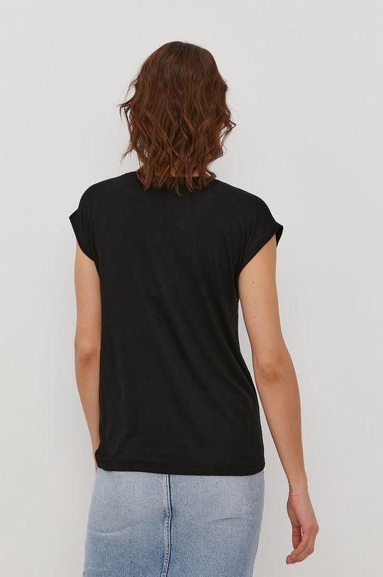Pieces - T-shirt 5 % Elastan, 95 % Wiskoza LENZING ECOVERO