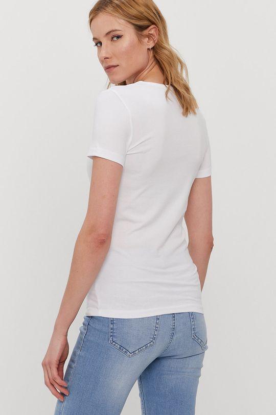 Pieces - T-shirt biały