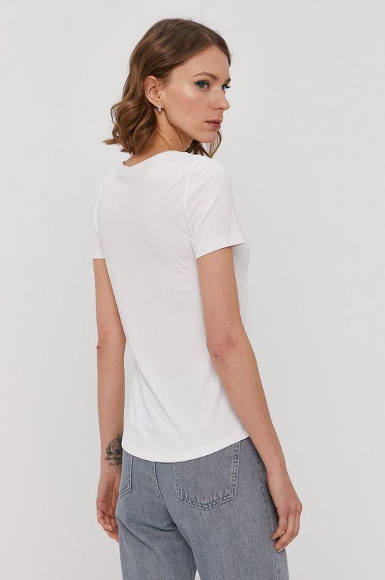 Pieces - T-shirt 68 % Modal, 32 % Poliester