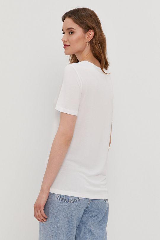 Pieces - T-shirt 32 % Poliester, 68 % Tencel