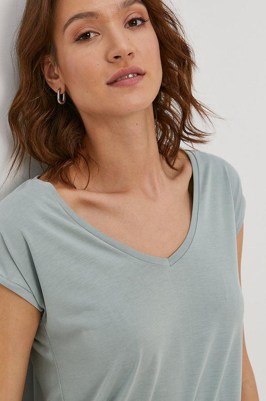 zielony Pieces - T-shirt Damski
