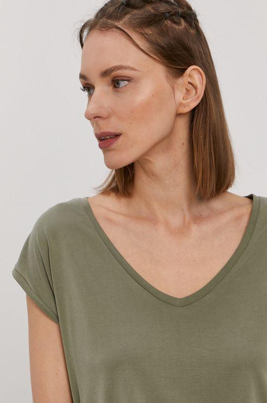 oliwkowy Pieces - T-shirt