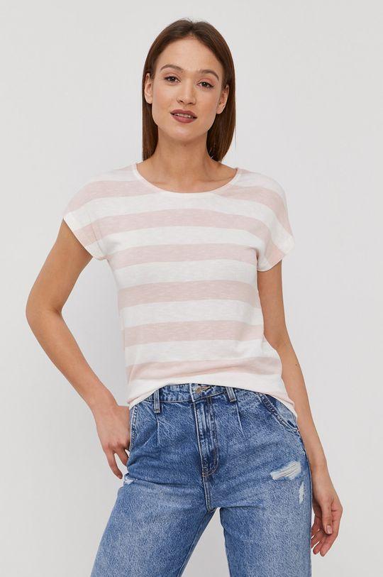 pastelowy różowy Vero Moda - T-shirt
