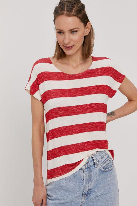 ostry czerwony Vero Moda - T-shirt Damski