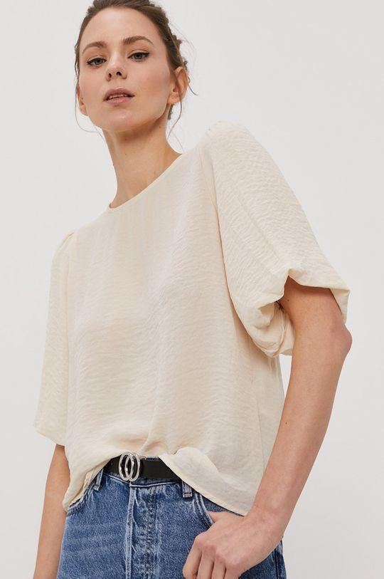 kremowy Vero Moda - Bluzka Damski