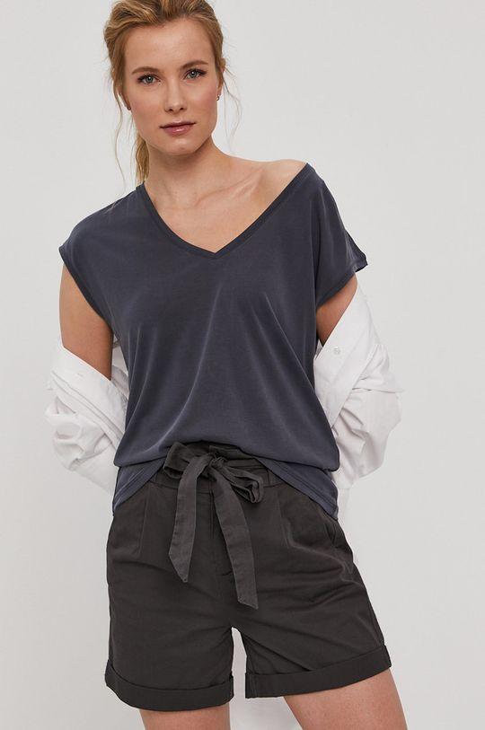 granatowy Vero Moda - T-shirt Damski