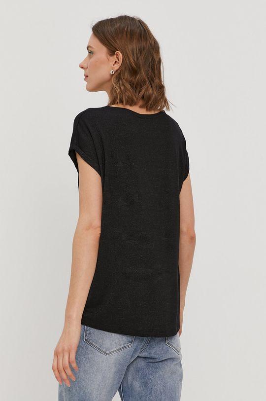 Vero Moda - T-shirt 5 % Elastan, 8 % Poliester, 82 % Wiskoza, 5 % Włókno metaliczne