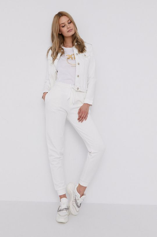 Pinko - T-shirt biały