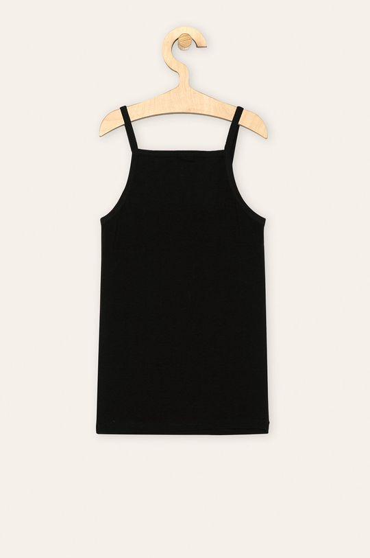 Name it - Dětský top 110-116 cm černá
