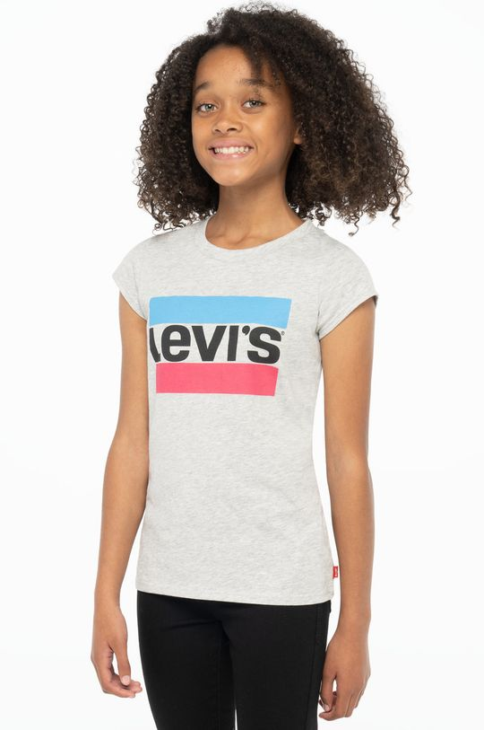 Levi's - T-shirt dziecięcy jasny szary