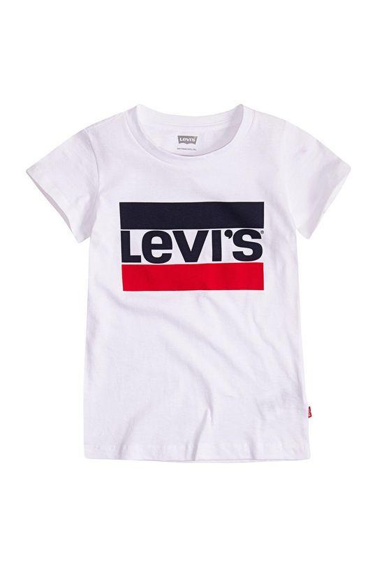 bílá Levi's - Dětské tričko Dívčí
