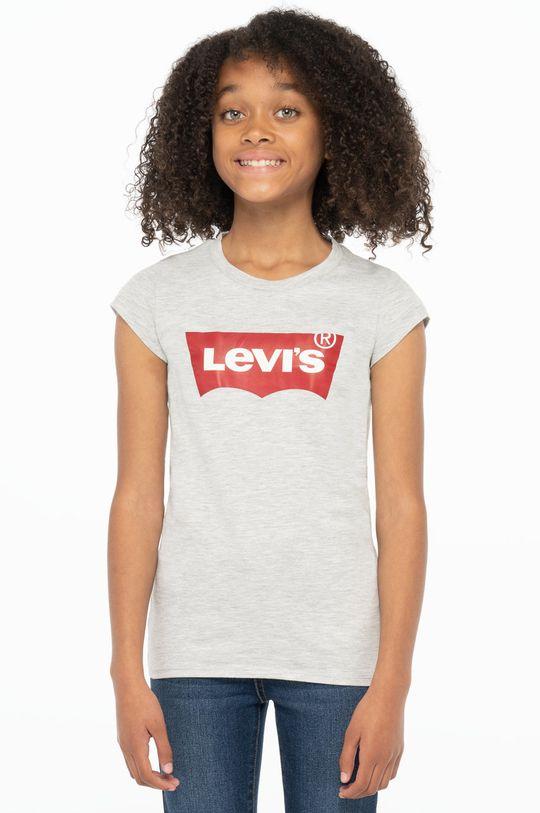 szary Levi's - T-shirt dziecięcy Dziewczęcy