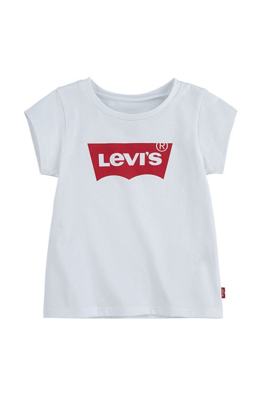 biały Levi's - T-shirt dziecięcy Dziewczęcy