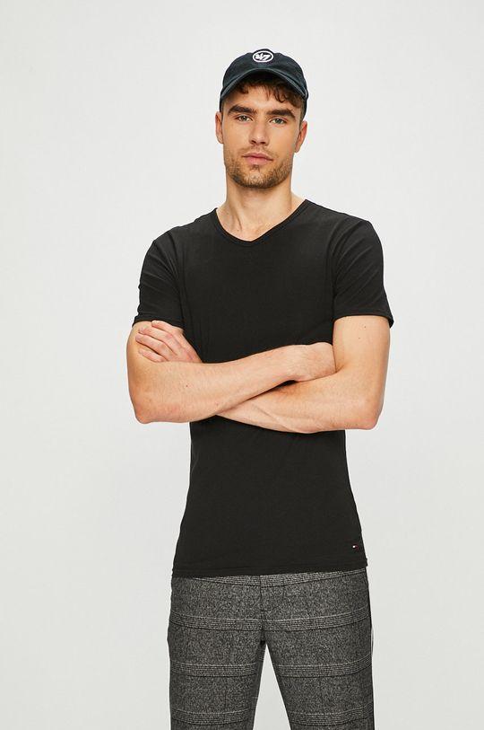 czarny Tommy Hilfiger - T-shirt (3-pack) Męski