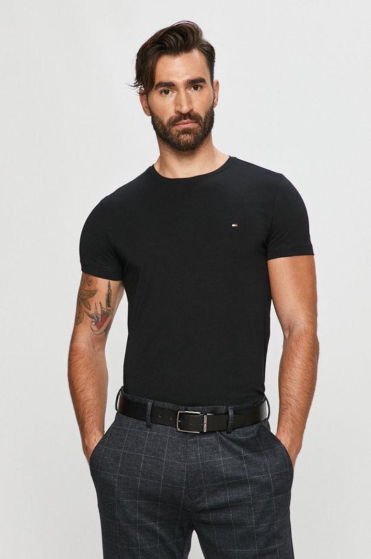 negru Tommy Hilfiger - Tricou De bărbați