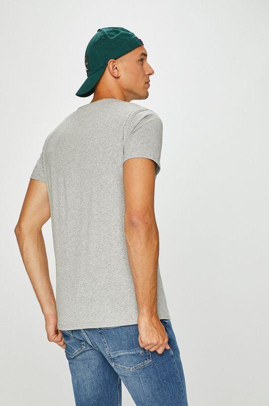 svetlosivá Tommy Jeans - Pánske tričko