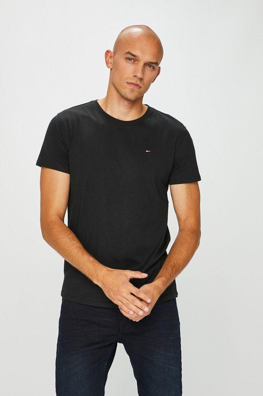 negru Tommy Jeans - Tricou De bărbați