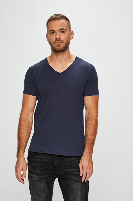 námořnická modř Tommy Jeans - Tričko