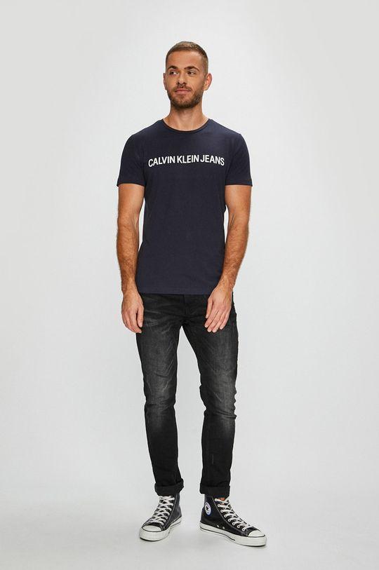 Calvin Klein Jeans - T-shirt granatowy