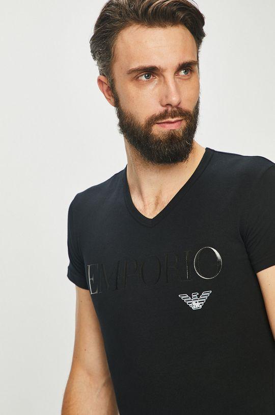 Emporio Armani - T-shirt Materiał zasadniczy: 5 % Elastan, 95 % Bawełna,