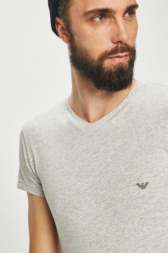 sivá Emporio Armani - Pánske tričko Pánsky