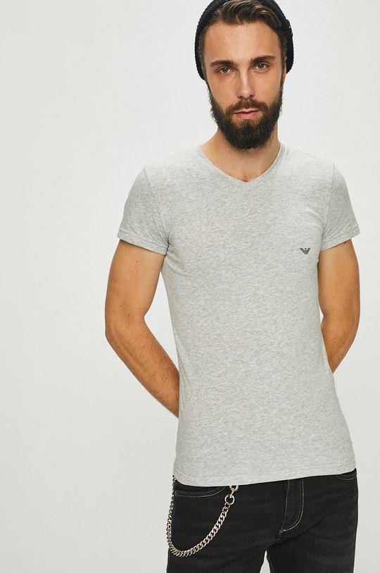 sivá Emporio Armani - Pánske tričko