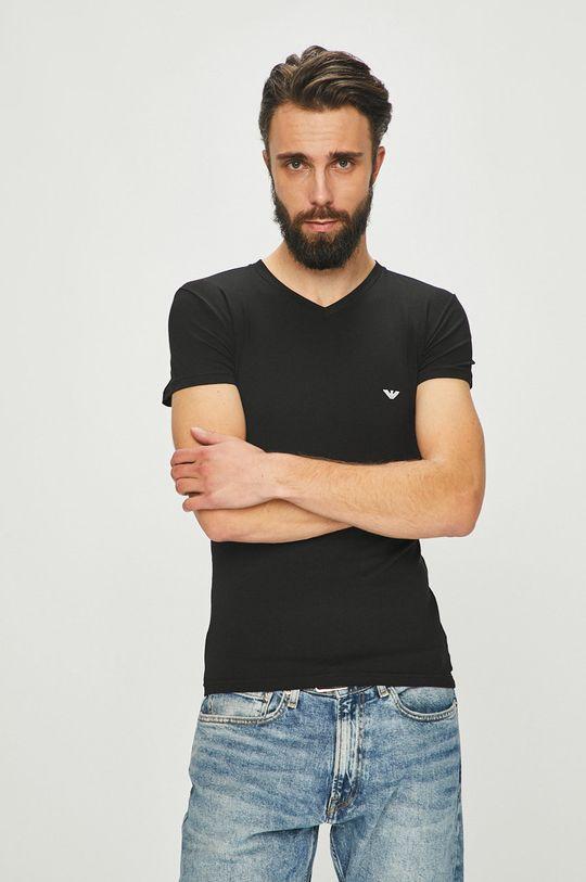 černá Emporio Armani - Tričko Pánský