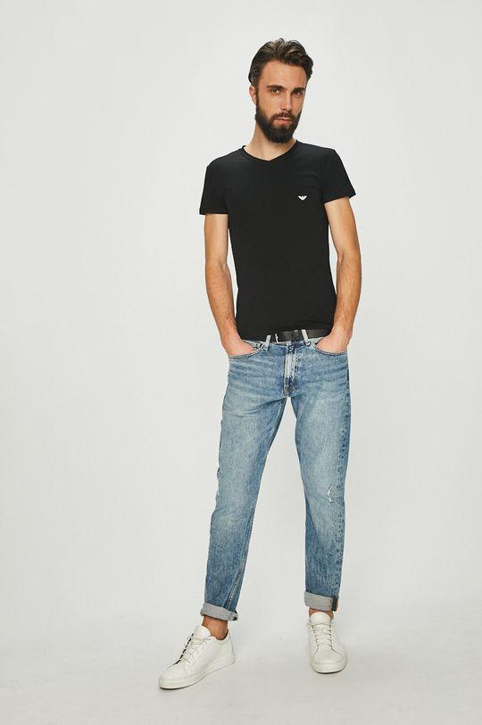 Emporio Armani - Tričko černá