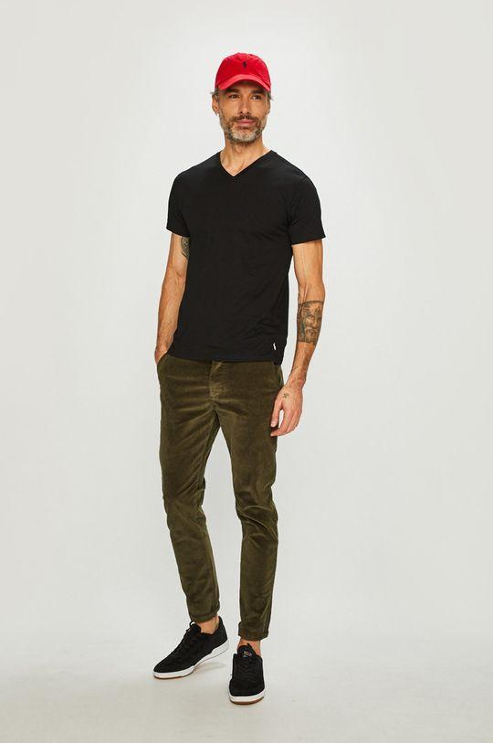 Polo Ralph Lauren - Tričko (2-Pack) černá