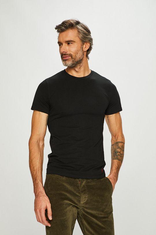 černá Polo Ralph Lauren - Tričko (2-pack) Pánský