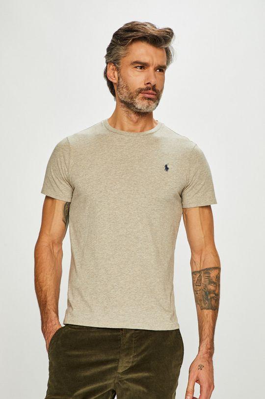 szary Polo Ralph Lauren - T-shirt Męski
