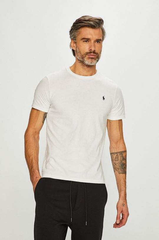 biela Polo Ralph Lauren - Pánske tričko Pánsky