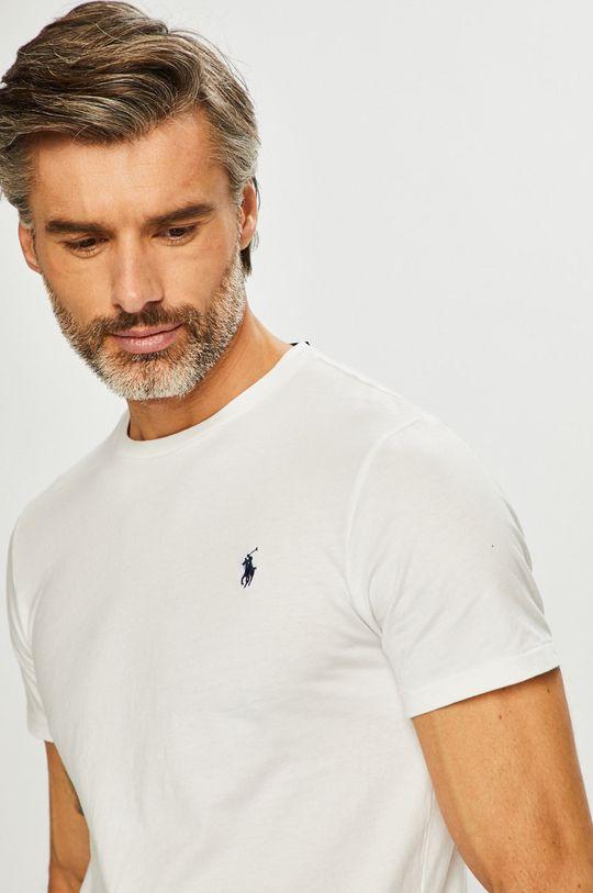 biela Polo Ralph Lauren - Pánske tričko