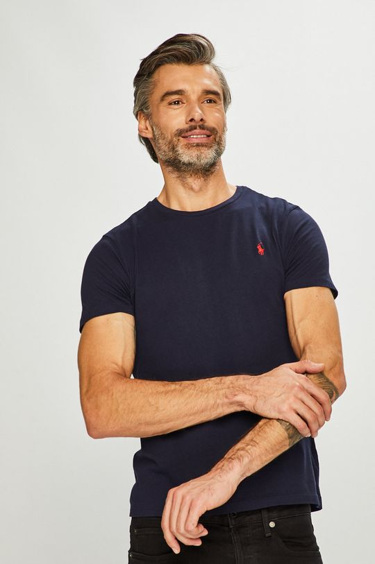 tmavomodrá Polo Ralph Lauren - Pánske tričko Pánsky