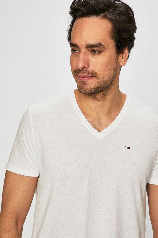 biały Tommy Jeans - T-shirt