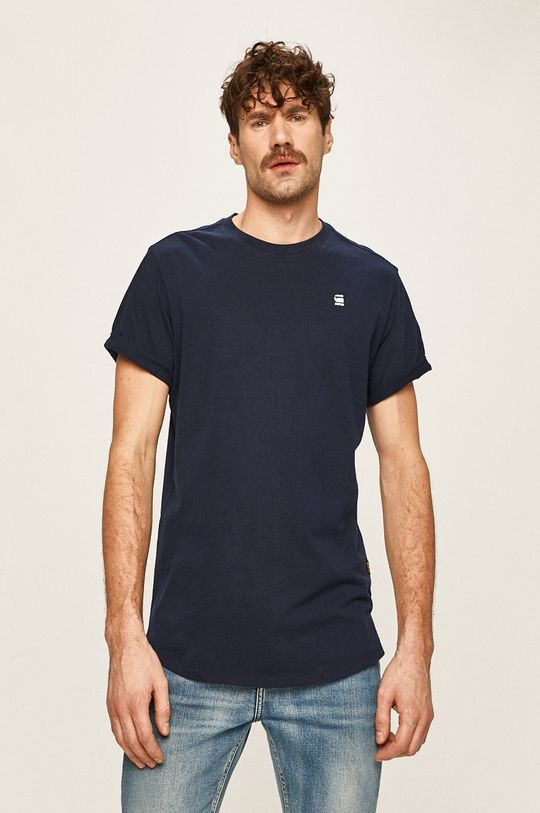 tmavomodrá G-Star Raw - Pánske tričko Pánsky
