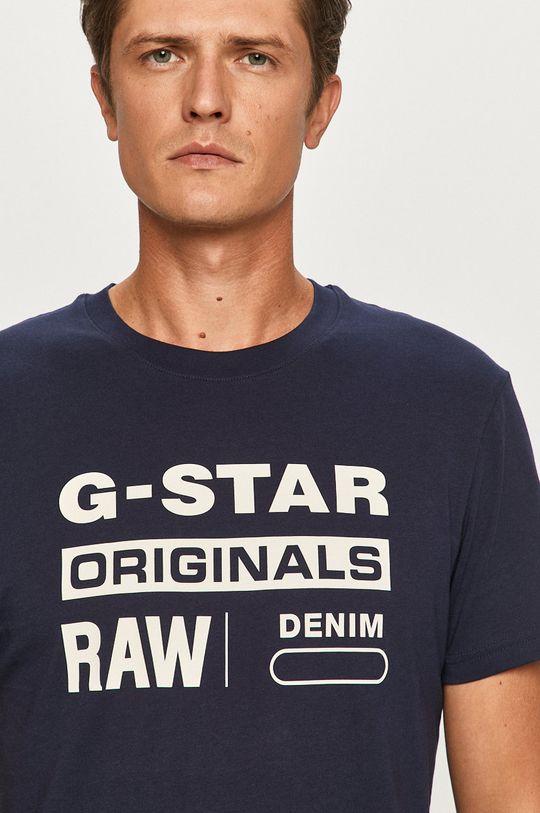 námořnická modř G-Star Raw - Tričko